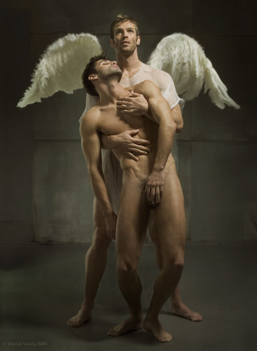 sexy male angel cool sex