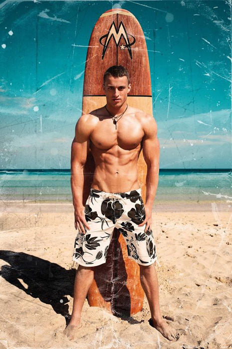 Erotic gay male surfer sex scene and is it 1
