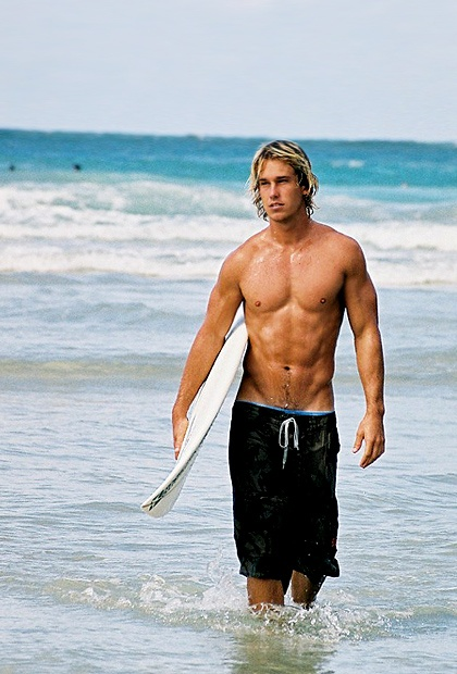 surfer dude blonde Hot