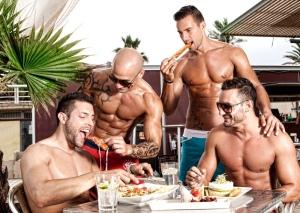 dinner party summer