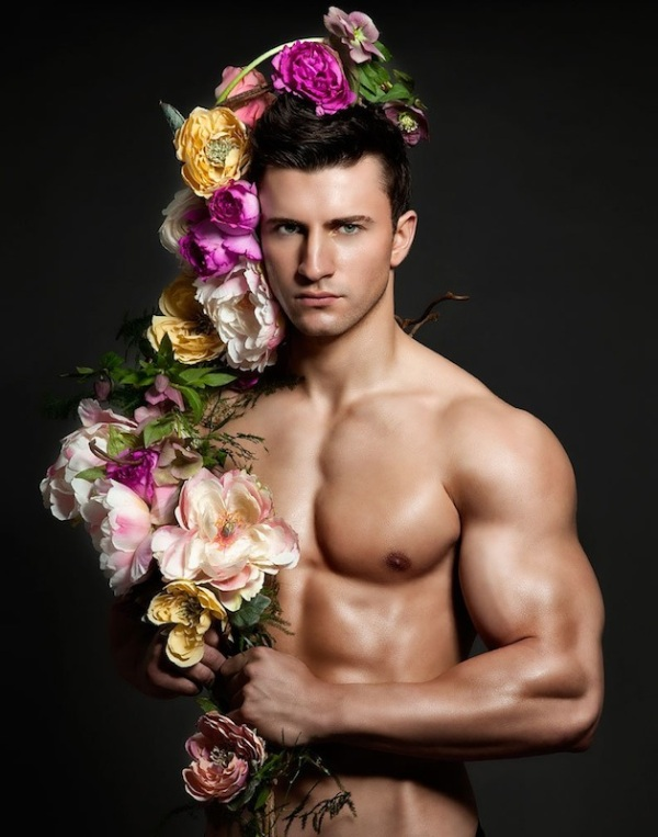 flowers mother sexy arms