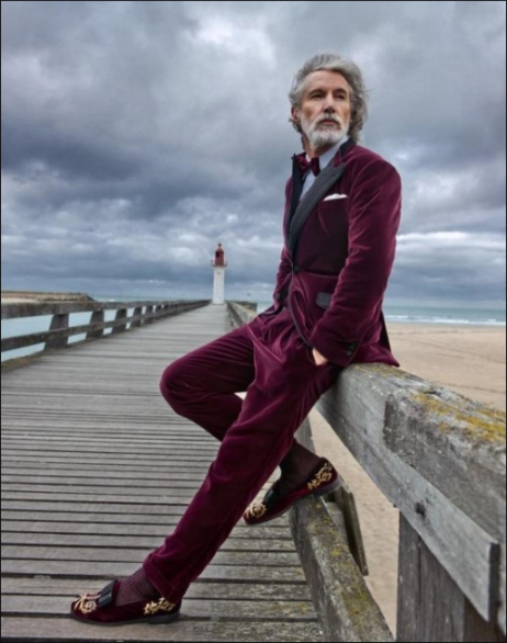 aiden shaw by the sea