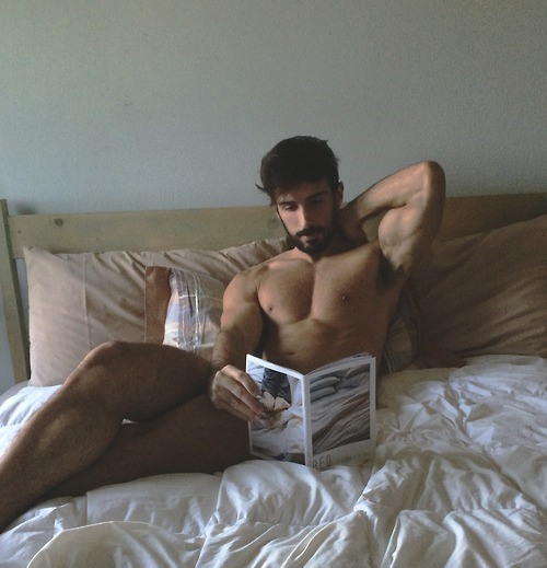 reading book in bed (2)