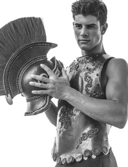 Frankie C. model warrior