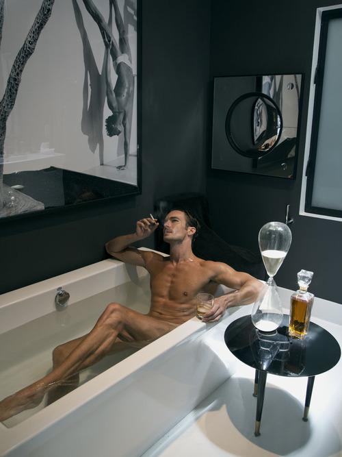 smoke drink champ bath