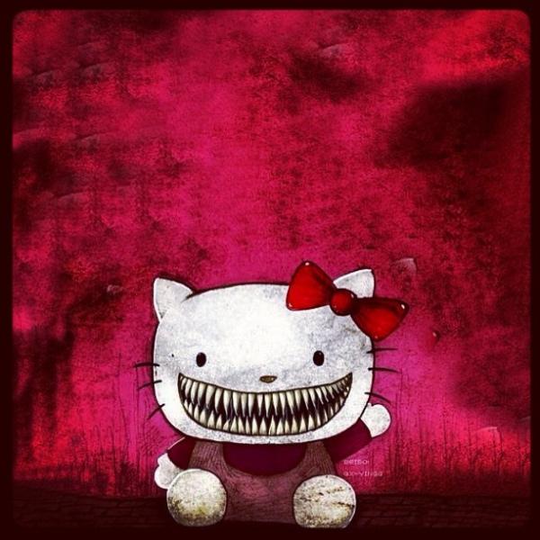 hello kitty horror