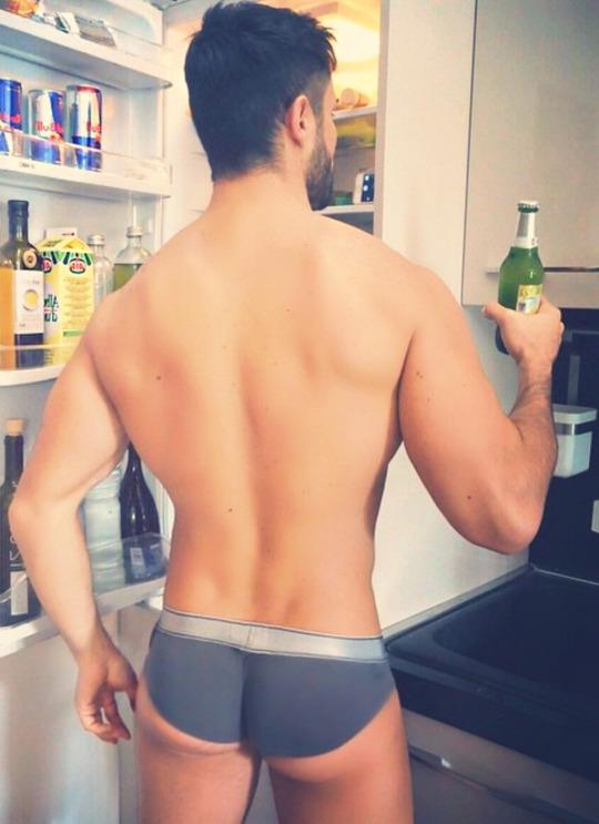 underwear beer friday champ