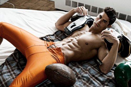 football sexy man