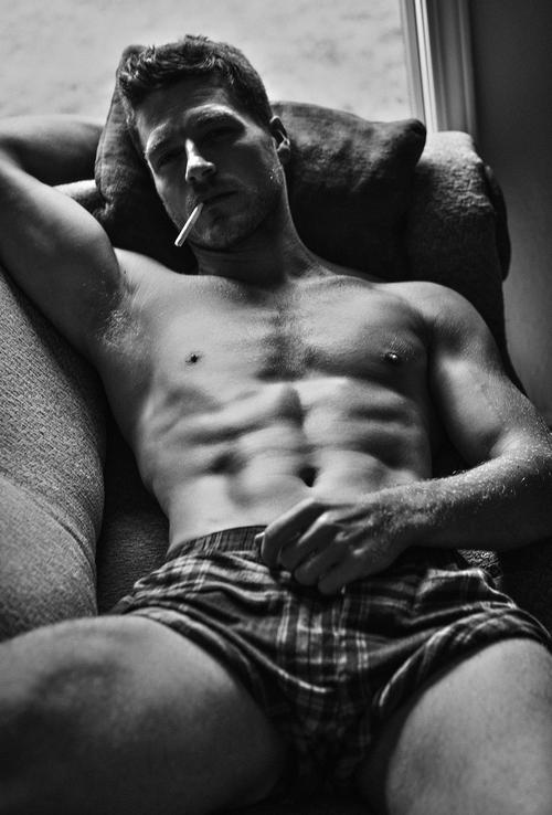 Marc Oliver smoking sexy